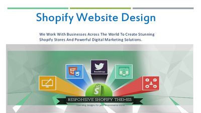 Design and develop shopify store 5 products
