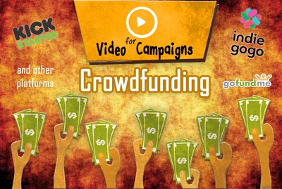 Create a professional CROWDFUNDING fundraiser intro video for your campaign