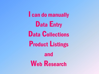 Do fastest Data entry work with 10 Years Experience.