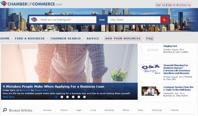 Write & publish a guest post on Chamber of Commerce - ChamberOfCommerce.com DA64, PA7