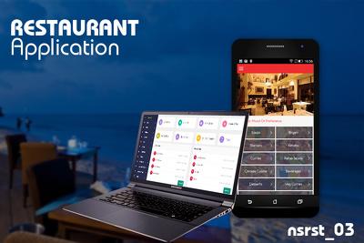 Restaurant app Android,iOS CMS