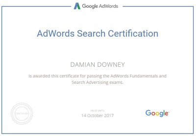 Create an AWESOME new Google AdWords account with a £120 voucher.