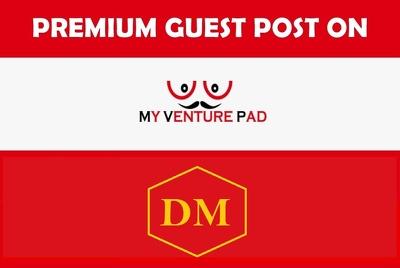 Publish a guest post on Myventurepad, Myventurepad.com