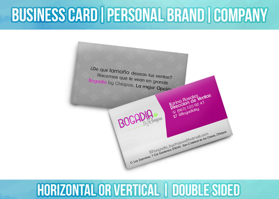 Design a Business Card  Stunning  Double side in 24 Hours