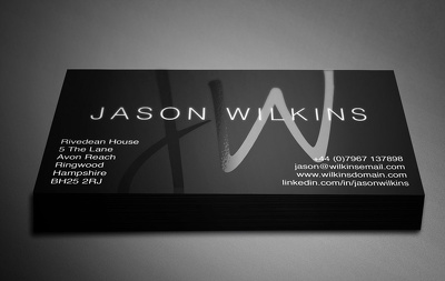 Design minimalist, stunning and beautiful Business Card