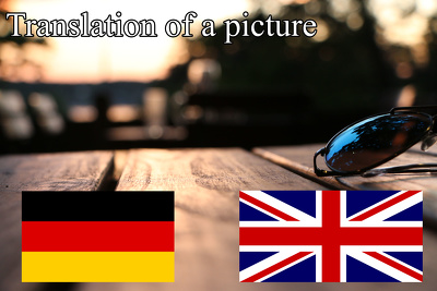 Translate Pictures from English to German