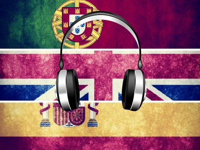 Transcribe and translate up to one hour of audio in Spanish/ Portuguese or English