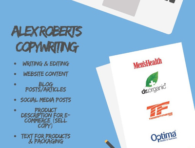 Improve your conversion rate by up to 21% with my copywriting