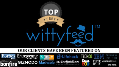 Guest post on wittyfeed wittyfeed.com DA 50 dofollow link