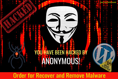 Recover & remove malware from hacked and fix bug of your any type website