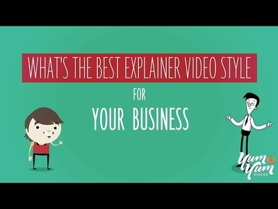 Make a HD explainer video with native ENG voiceover, infographics & footage