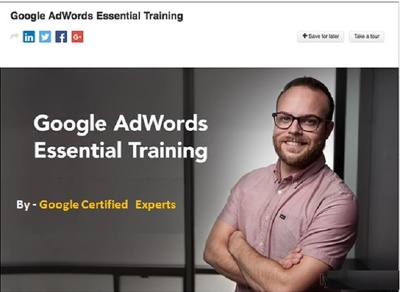 Provide Training on Google Adwords - PPC to Set-up your adwords campaign