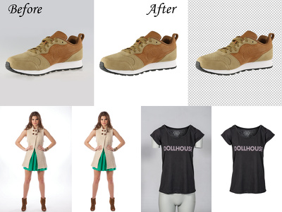 "Background remove/Cut Out 100 images for ""E-Commerce Website/Others"""