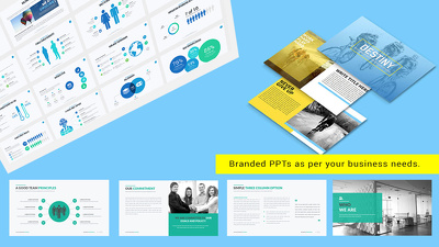 Design 15 slides editable PowerPoint Presentation with unlimited revisions
