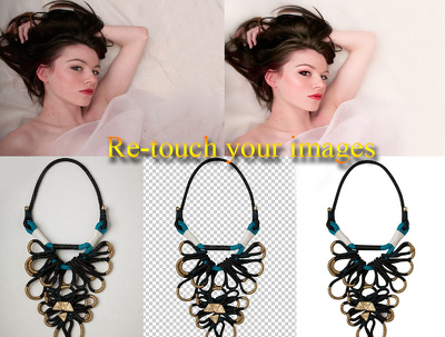 Background Remove/re-touch 30 Images for $15