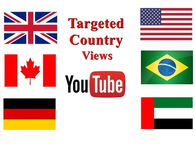 Provide Targeted 2000-3000 YouTube Views From More Than 20 Country