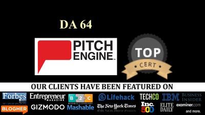 VIP Guest Posts: Write + Pubish Guest Post on Pitchengine.com DA 64 dofollow link