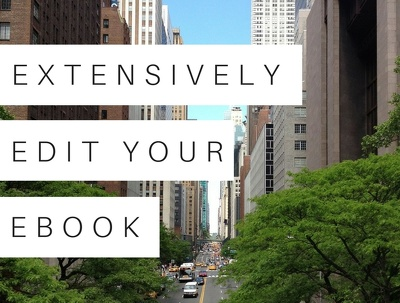 Extensively edit your eBook to a high standard (10,000 words)