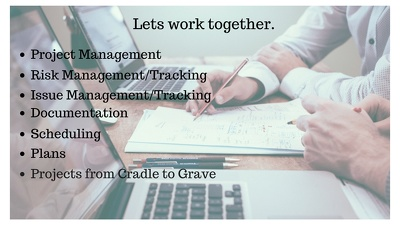 Provide 1 hours assistance in any aspect of project management