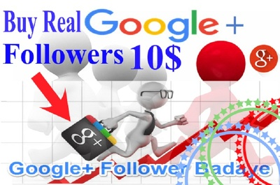 Provide active 500 Google+ Follower for your Google+ profile