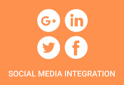 Integrate social media on to your website