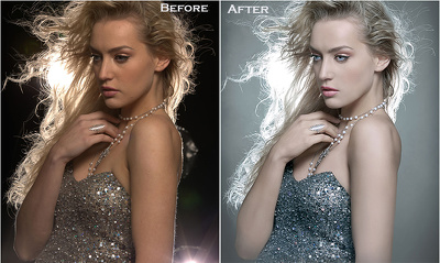 Photo retouching and photo editing on a professional level