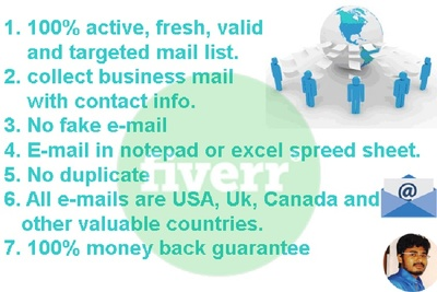 Provide you targeted business mail