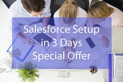 Setup your Salesfoce