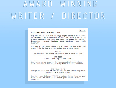 Turn your idea into a professional screenplay.