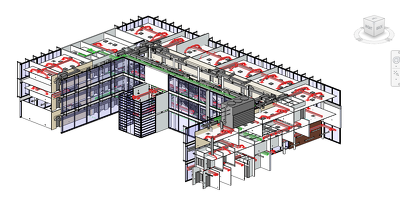 Design Architecture and Mechanical, Electrical, Plumbing in AutoCAD Revit