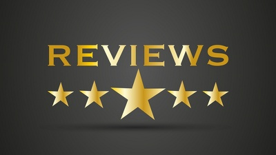 Write up to 3 positive reviews on your website or blog