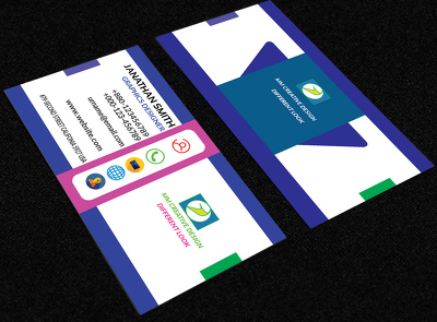 Design your creative,corporate, Professional,business card