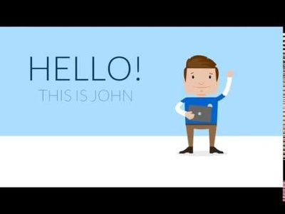 Create a 2D animation or cartoon explainer video for your business