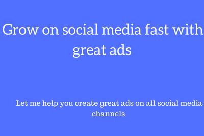 Create Ads on different Social Media Platforms
