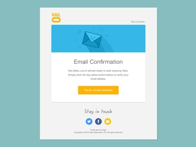 Design HTML Email/Newsletter Template