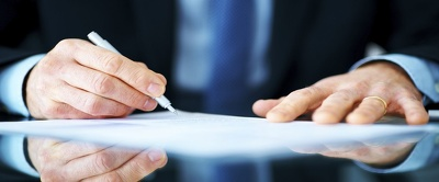 Review contracts and legal documents.