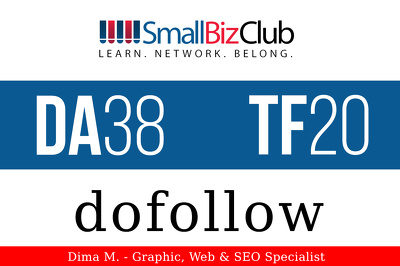 Write and Publish Guest post on smallbizclub.com with a Do-Follow Link