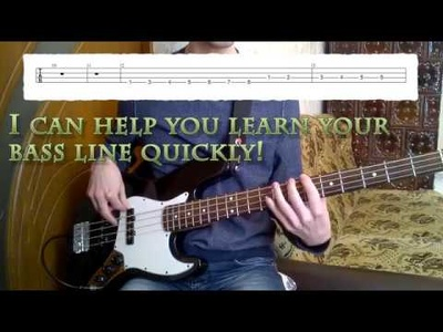 Show You How To Play Your Favorite Bass Line