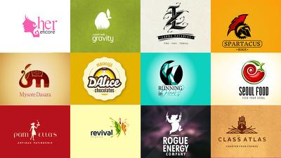 Design bespoke Logo + 3 concept + Source file.