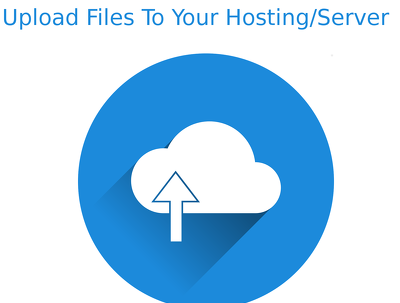 Upload your website to your Hosting
