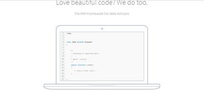Develop Website With Laravel Framework