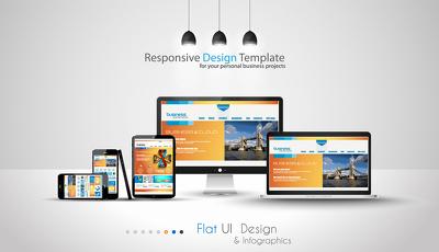 Design & develop responsive Wordpress/CMS based website
