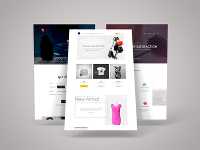 Create professional high-fidelity PSD homepage design/Responsive homepage design.