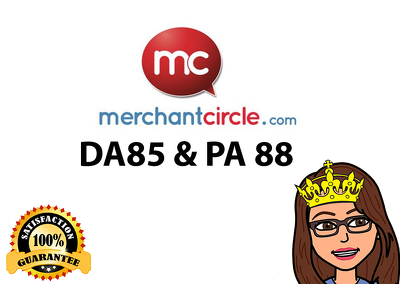 Write a blog on merchantcircle.com (DA 85, PA 88 PR 8)