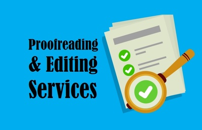 Proofreading & Editing Services 1,000 words in 1 day.