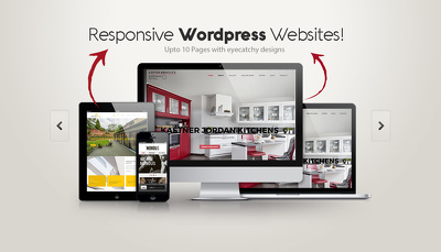 Develop you a Dynamic and Responsive WORDPRESS Website