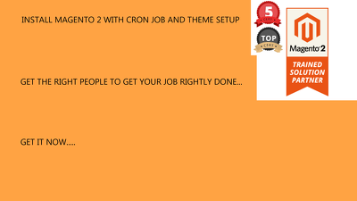 Install Magento 2 With Cron Job And Theme Setup