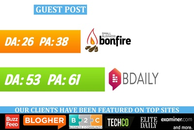 Publish guest post on SmallBizBonfire, BDaily