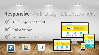 Design and develop responsive WordPress web sites with html 5 and css3