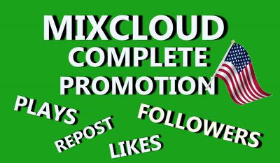 DO COMPLETE MIXCLOUD PROMOTION